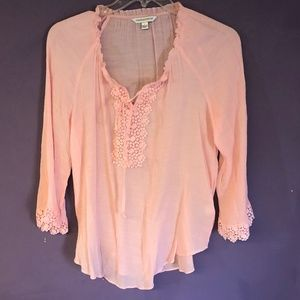 Counterparts Gauzy blouse with boho style L